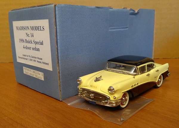 Модель 1:43 Buick SPECIAL 4-door SEDAN - harvest yellow/carlsbad black