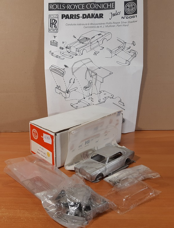 Модель 1:43 Rolls-Royce JULES Paris Dakar 81 (KIT)