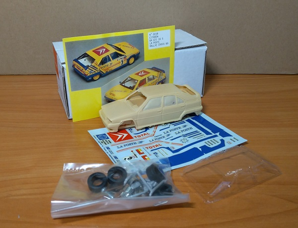 Модель 1:43 Citroen BX GTI 16S №3 La Poste Rallye Cross (KIT)