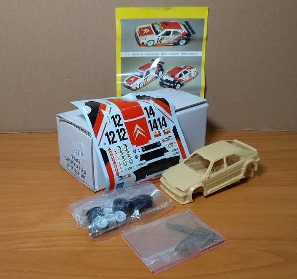 Модель 1:43 Citroen BX Turbo Supertourisme (KIT)
