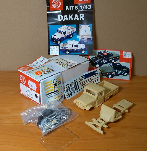 Модель 1:43 Toyota Metal 5 Dakar 83 (KIT)