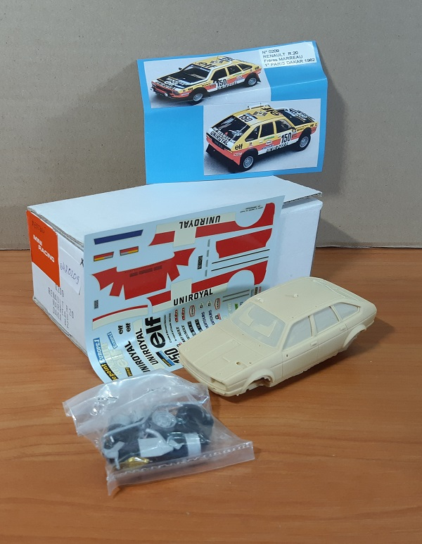 Модель 1:43 Renault R20 MARREAU DAKA 82 (KIT)