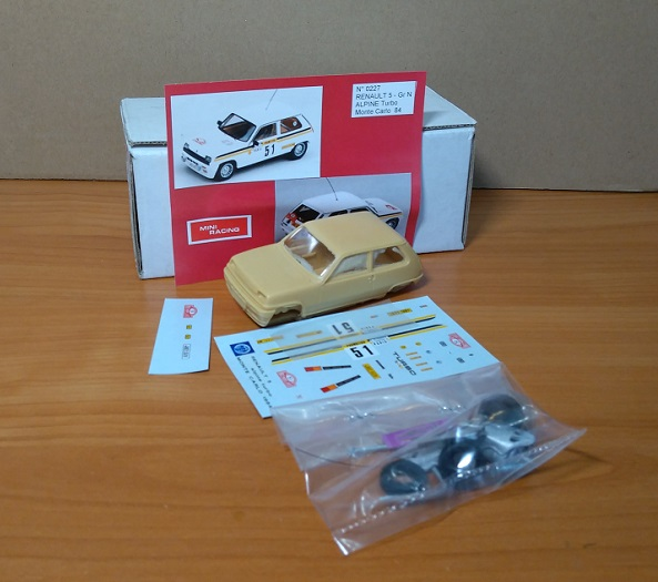 Модель 1:43 Renault 5 - Gr N Alpine Turbo Monte Carlo 1984 (KIT)