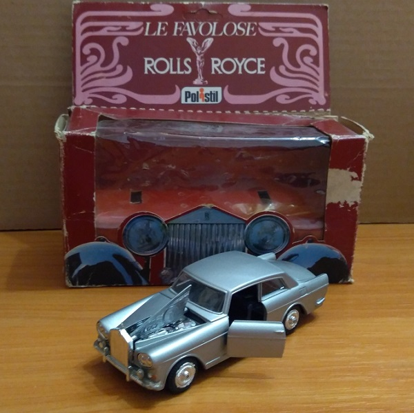 Модель 1:43 Rolls-Royce Silver Cloud III Coupe - grey