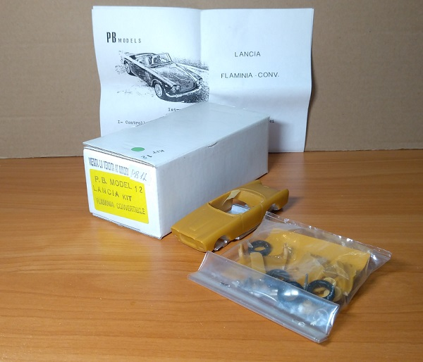 Модель 1:43 Lancia Flaminia Convertible (KIT)