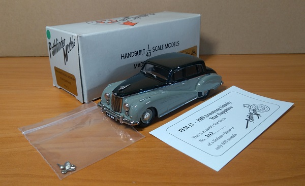 Модель 1:43 Armstrong Siddeley Star Sapphire (L.E. 343 of 600ps.)