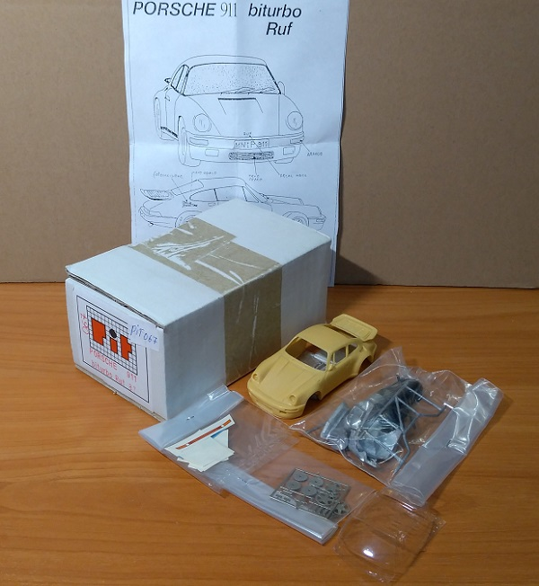 Модель 1:43 Porsche 911 biturbo Ruf 87 (KIT)
