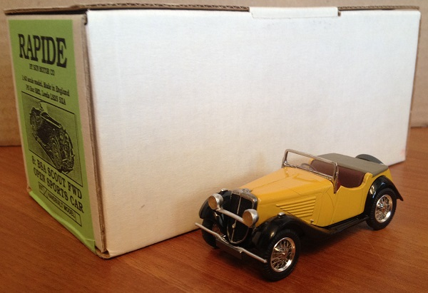 Модель 1:43 BSA SCOUT FWD OPEN Sports CAR