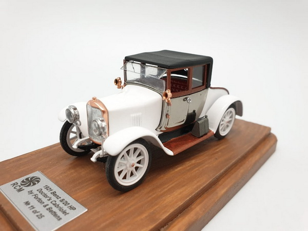Модель 1:43 Benz 8/20 HP Doctor's Cabriolet by Forton & Bettens (L.e. 25 pcs.)
