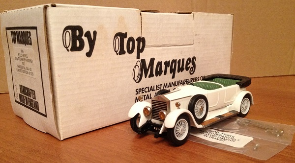 Модель 1:43 Rolls-Royce 20hp Tourer by HOOPER 1297 Ch.№GAJ 42 (L.E.38 of 125pcs)