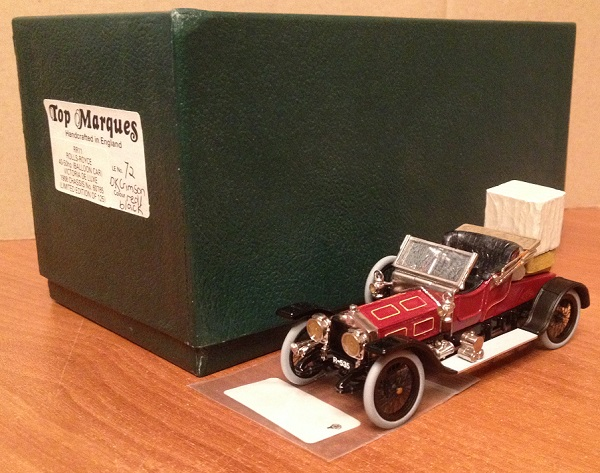 Модель 1:43 Rolls-Royce 40-50hp (Baloon Car) Victoria de Luxe Ch.№60785 (L.E.75 of 125pcs)