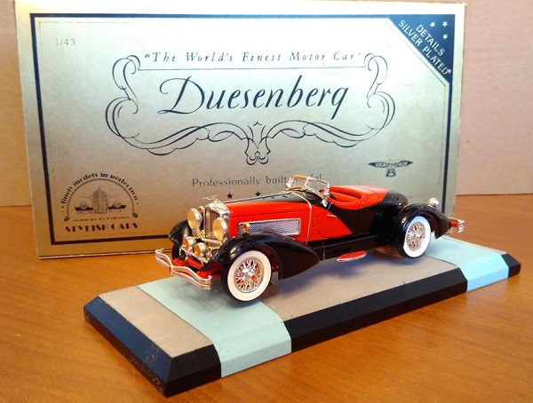 Модель 1:43 Duesenberg J-465 Boattail Speedster by Figoni (L.E 15 of 250 pcs)
