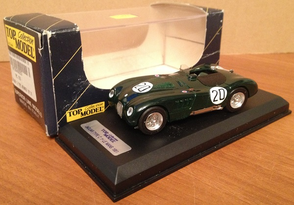 Модель 1:43 Jaguar C-Type №20 Winner Le Mans