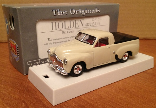 Модель 1:43 Holden 48/215 UTE - Cream