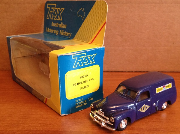 Модель 1:43 HOLDEN VAN Nasco - Blue