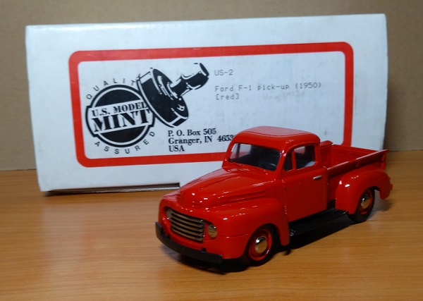 Модель 1:43 Ford F-1 Pick-up 1950 - Red