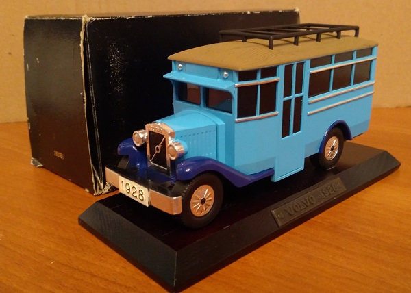 Модель 1:43 Volvo Bus - 2-tones blue