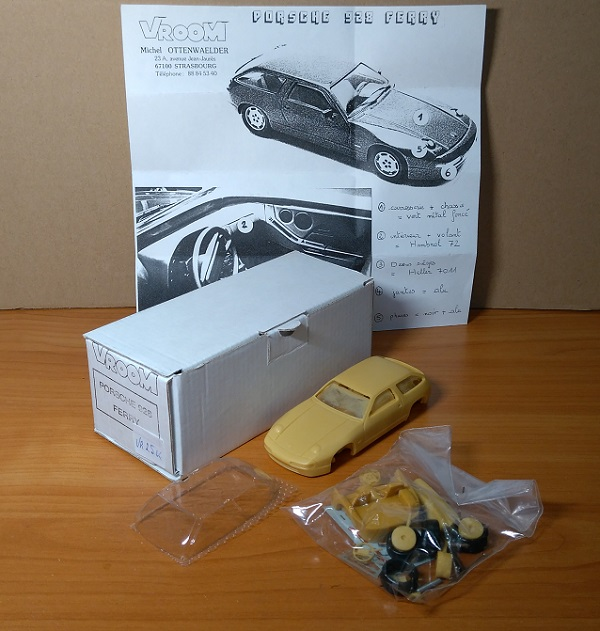 Модель 1:43 Porsche 928 FERRY (Ferry Porsche's 75th birthday present) (KIT)