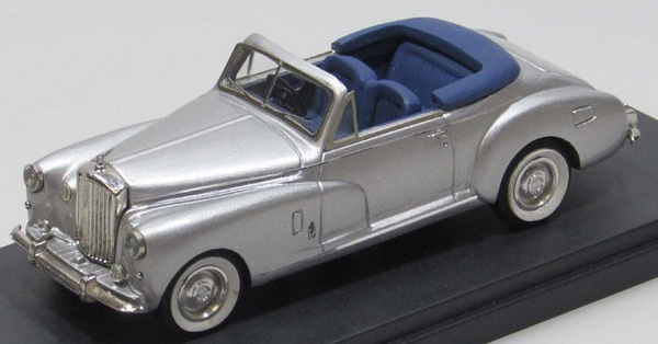 Модель 1:43 Bentley Mk VI Coupe Pininfarina Convertible (open top) - silver