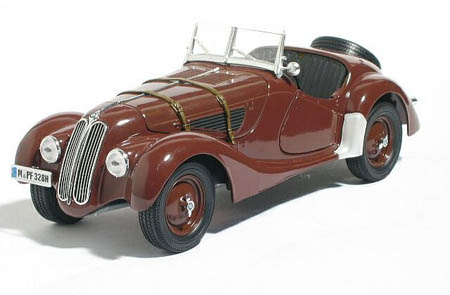 Модель 1:18 BMW 328 Roadster with removable Softtop