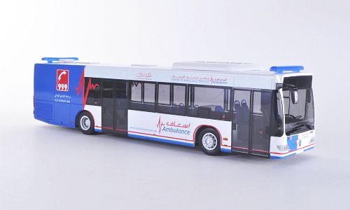 Модель 1:43 Mercedes Citaro E4 - Centre of Ambulance Services - Ambulance Dubai (UAE)