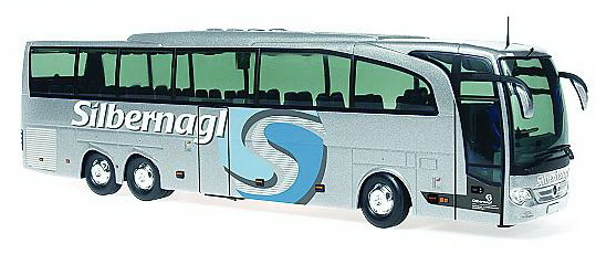 Модель 1:43 Mercedes-Benz Travego 12 «Silbernagl» (IT)