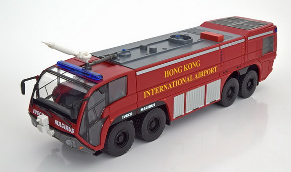 Модель 1:43 IVECO Magirus Dragon X8 Hong Kong Airport