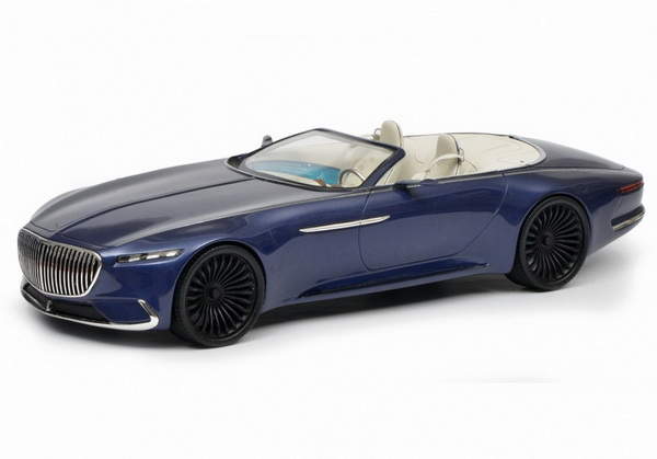 Модель 1:18 Mercedes-Maybach Vision 6 Convertible - blue met