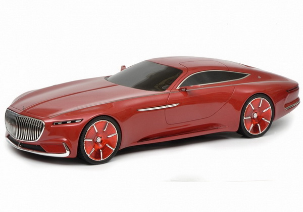 Модель 1:18 Mercedes-Maybach Vision 6 Coupe - red