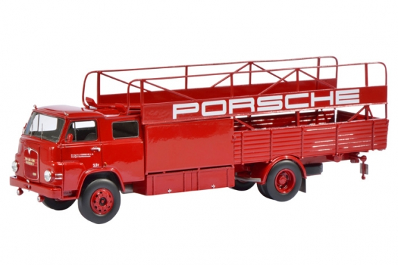 Модель 1:18 MAN Renntransporter «Porsche»