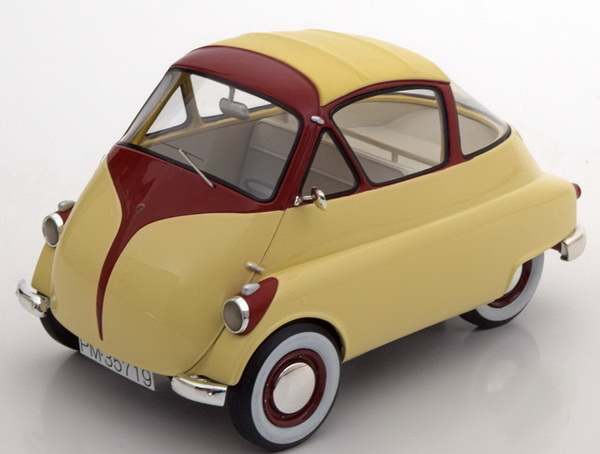 Модель 1:18 Iso Isetta - beige/dark red