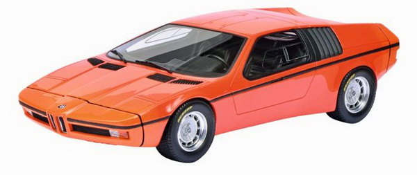 Модель 1:18 BMW Turbo X1 (E25) - orange