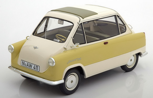 Модель 1:18 Zündapp Janus - Beige/light green