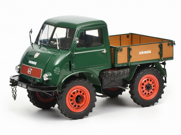 Модель 1:18 Mercedes-Benz Unimog 401 - green