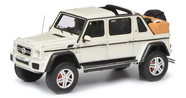 Модель 1:18 Mercedes-Maybach G650 Landaulet - white