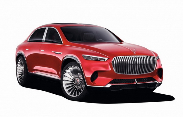 Модель 1:18 Mercedes-Maybach Vision Ultimate Luxury (L.E.500 pcs)