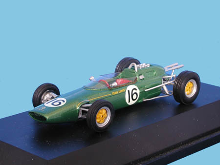 Модель 1:43 Lotus 25 P1 GP Belgie (Jim Clark)
