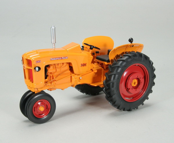 Модель 1:16 MINNEAPOLI​S MOLINE 445 GAS NARROW FRONT TRACTOR W/WEIGHTS