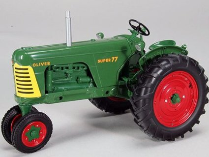 Модель 1:16 OLIVER Super 77 NARROW FRONT TRACTOR WITH RED WHEELS