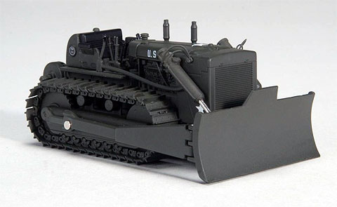 Модель 1:50 International Harvester Military TD-24 crawler with hydraulic blade