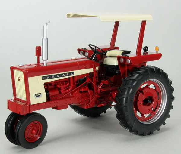 Модель 1:16 FARMALL 504 GAS NARROW FRONT TRACTOR WITH CANOPY