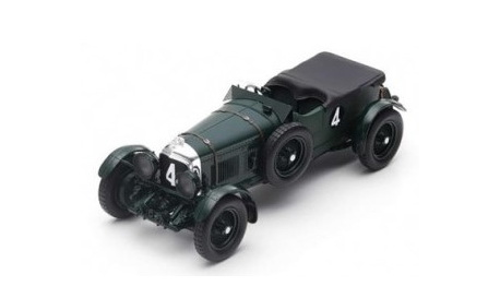 Модель 1:18 Bentley Speed Six №4 Winner 24h Le Mans (Woolf Barnato - Glen Kidston)