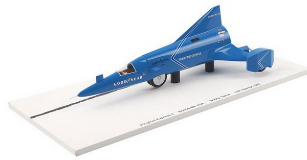 Модель 1:43 Wingfoot Express Bonneville Bob Tatroe LSR Attempt 1965