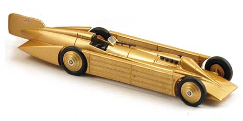 Модель 1:43 Golden Arrow Daytona Beach Henry Segrave LSR 231.44 mph 1929