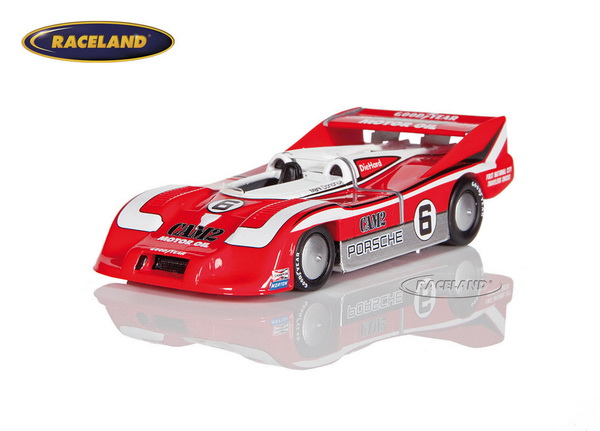 Модель 1:43 Porsche 917/30 221.160mph #6 World's Closed Course Speed Record Car 1975 Mark Donohue