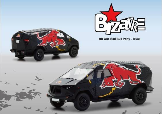Модель 1:43 Red Bull Event Car
