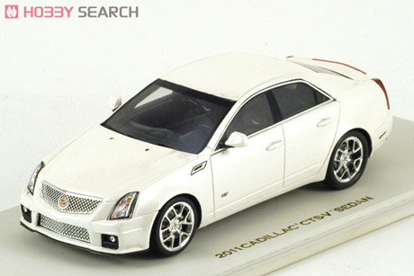 Модель 1:43 Cadillac CTS-V Sedan - white diamond