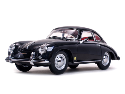 Модель 1:18 Porsche 356A 1500 GS Carrera GT Coupé - Black