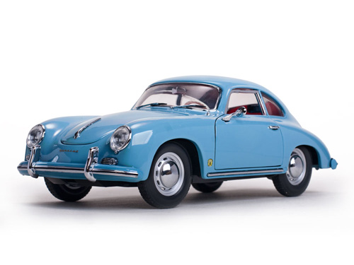 Модель 1:18 Porsche 356A 1500 GS Carrera GT Coupé - Meissen Blue