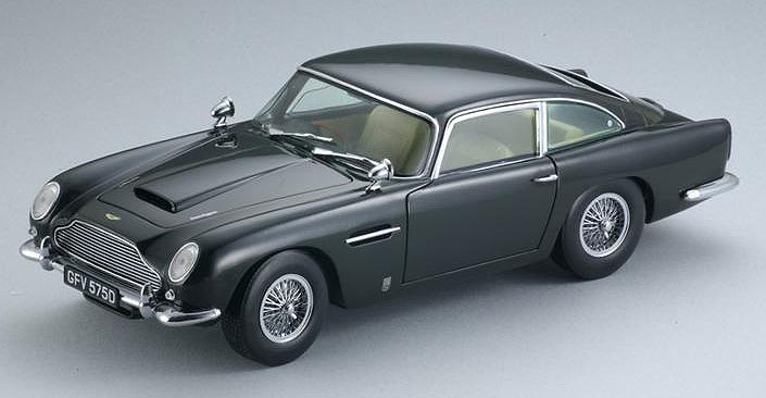 Модель 1:18 Aston Martin DB5 - dark green